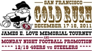 2011 San Francisco Gold Rush logo